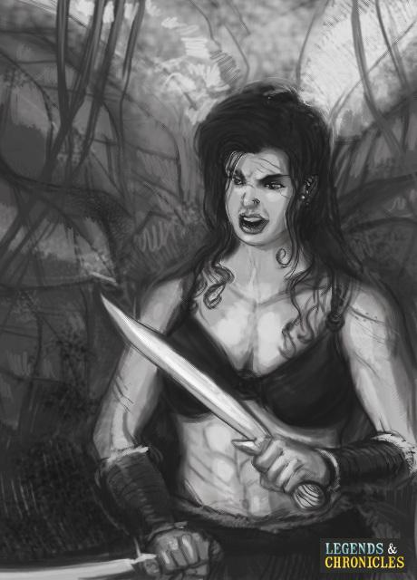 Greek Woman Warrior Amazon Warrior