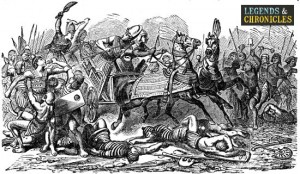 Egyptian Warriors in Battle