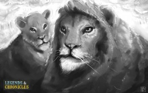 Lion and Lioness Big Cats