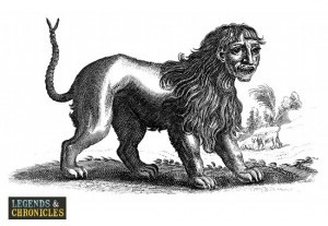 Mythical Greek Manticore 1