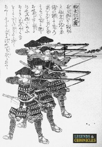 Japanese Ashigaru Warriors