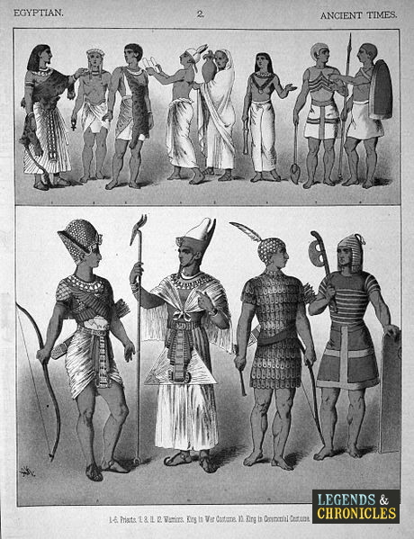 Ancient Egyptian Clothing 2
