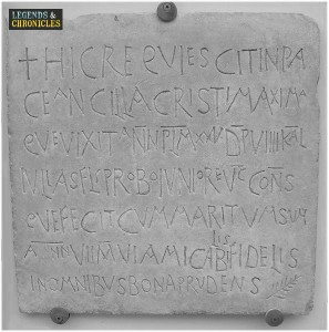 Ancient Roman language 2