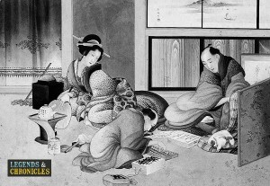 Merchants in feudal Japan 1