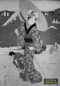 Women of feudal Japan 2